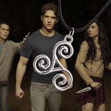 Teen Wolf Triskele Pendant Necklace