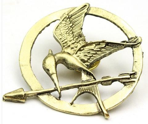 The Hunger Games Mockingjay Pin Brooch