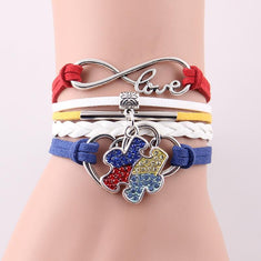Autism Awareness Puzzle Piece Bracelet