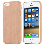 Wood Pattern Leather iPhone Case
