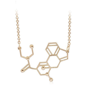 LSD Molecule Necklace