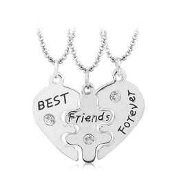 Best Friends Forever 3 Piece Necklace