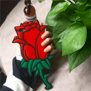 Beauty and the Beast Enchanted Rose iPhone Case