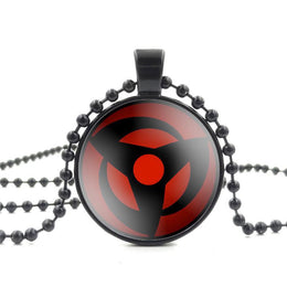 Naruto Anime Glass Pendant Necklace
