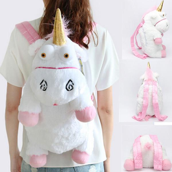 Unicorn Plush Backpack