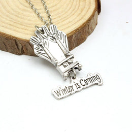 Game of Thrones Winter is Coming Necklace