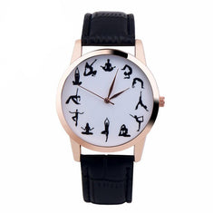 Yoga Poses Wrist Watch