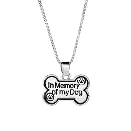 In Memory of My Dog Necklace