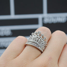 Princess Crown Ring Set