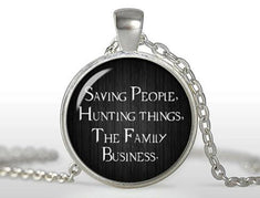 Supernatural Saving People Hunting Things The Family Business Necklace