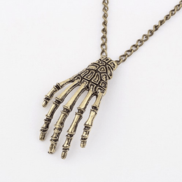 Walking Dead Zombie Hand Necklace