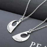Star Wars I Love You I Know Lover's Couple Necklace