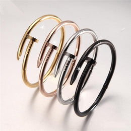 Nail-Shaped Bangle Bracelet