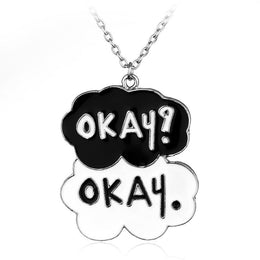 The Fault In Our Stars Okay Okay Necklace