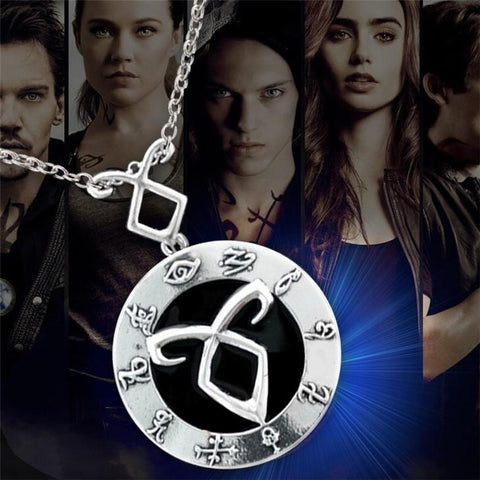 The Mortal Instruments Angelic Power Runes Shadowhunters Necklace