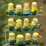 Despicable Me Minions Mini Toys Action Figures 12pcs/set