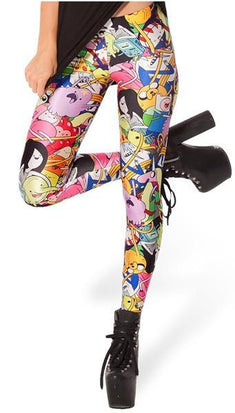 Adventure Time Bro Ball Leggings