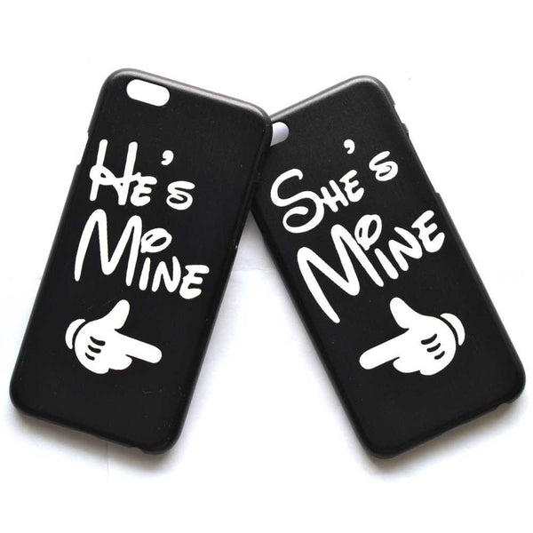 Hes Mine Shes Mine Matching Couples Protective Phone