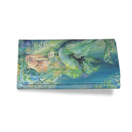 Women's Mermaid Clutch Wallet