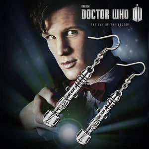 Doctor Who Sonic Screwdriver Earrings