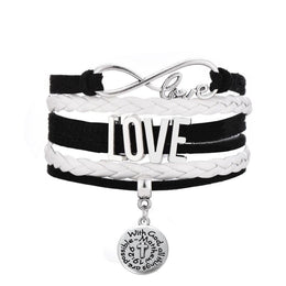 With God All Things Are Possible Love Bracelet