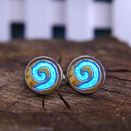 World of Warcraft WoW Hearthstone Cufflinks