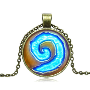 World of Warcraft WoW Hearthstone Pendant Necklace