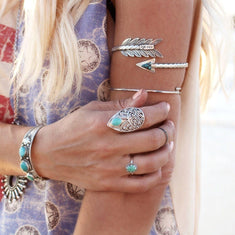 Boho Arrow Arm Cuff