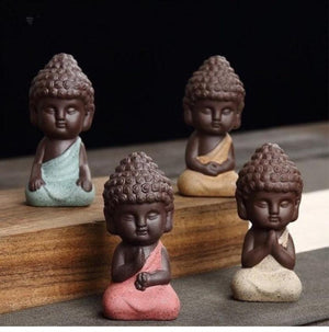 Little Buddha Monk Statue