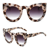 Thick Frame Cat Eye Sunglasses