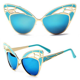 Cut Off Cat Eye Sunglasses