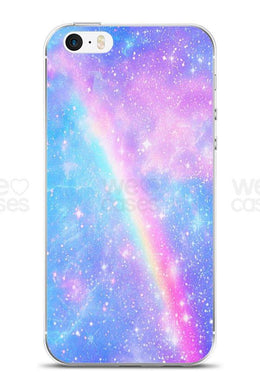 Rainbow Galaxy iPhone Case