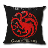 Game of Thrones Decorative Pillow Case Cushion Cover