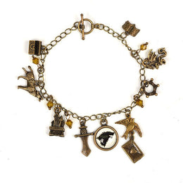 Game of Thrones Song Of Ice And Fire Charm Bracelet