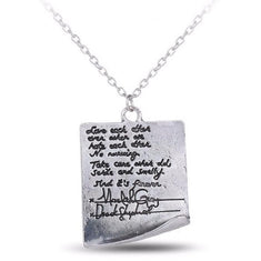 Grey's Anatomy Merchandise - Derek Meredith's Post-it Note Necklace