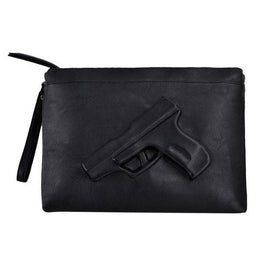 Bang-bang Embossed Clutch