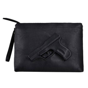 Gun Embossed Clutch