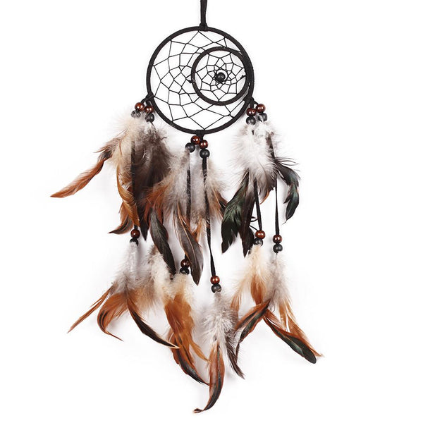 Handmade Decorative Dreamcatcher with Feathers