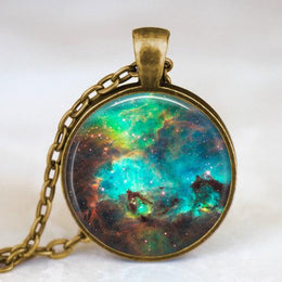 Space Nebula Necklace