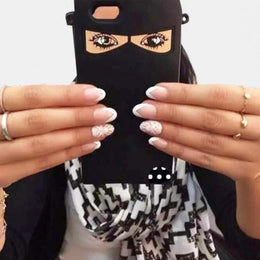 Niqab Islamic Cloth Phone Case for iPhone