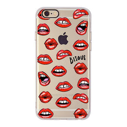Bisous Lips iPhone Case