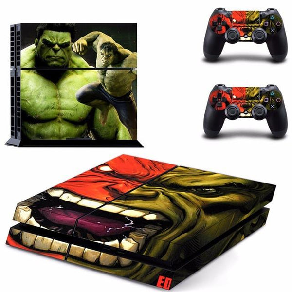 The Avengers Hulk PlayStation PS4 Skin Sticker