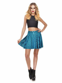 Mermaid Skater Skirt