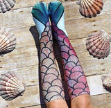 Mermaid Knee-High Socks