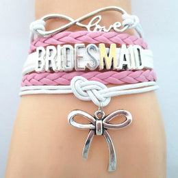Infinity Love Bridesmaid Bracelet