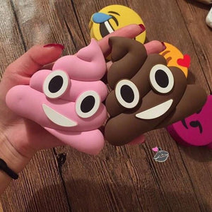 Poop Face Power Bank Portable Charger