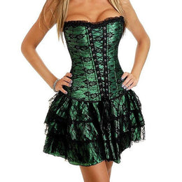 Steampunk Push-Up Corselet