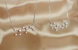 Sterling Silver Constellation Pendant Necklaces