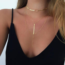 Disc Is Lovely Necklace
