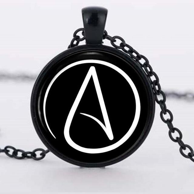 Atheist Pendent Necklace Iwisb